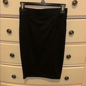 Aqua pencil skirt, size small